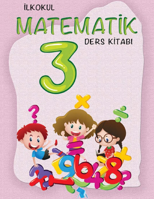 2019-2020 Yılı 3.Sınıf Matematik Ders Kitabı (Ada) pdf indir