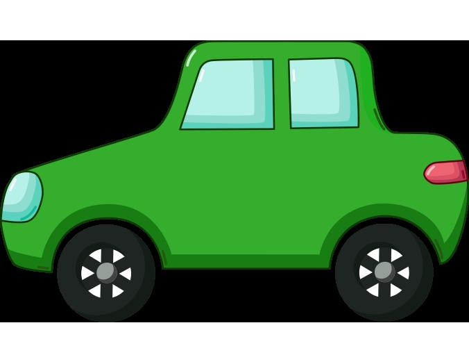 Yeşil otomobil resmi png