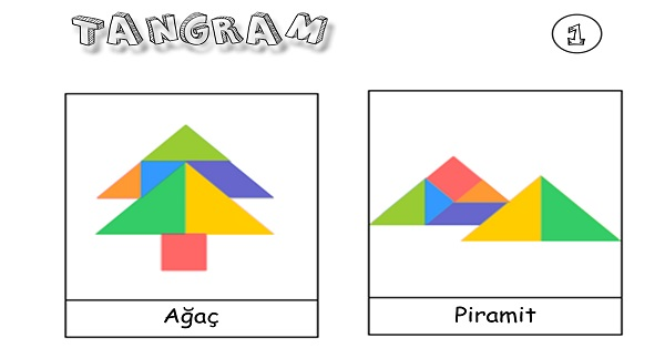 Tangram etkinliği 1