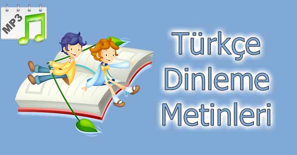 3.Sınıf Türkçe Dinleme Metni - Trafik Der ki mp3 (SDR İpek Yolu)
