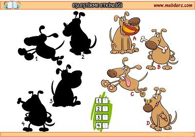 Köpek gölgesi eşleştirme etkinliği