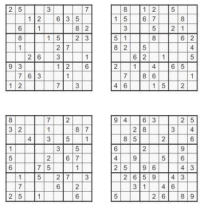 Orta Seviye Sudoku 7