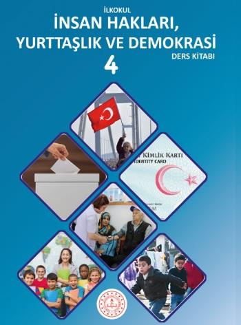 2019-2020 Yılı 4.Sınıf İnsan Hakları, Yurttaşlık ve Demokrasi Ders Kitabı (Meb) pdf indir