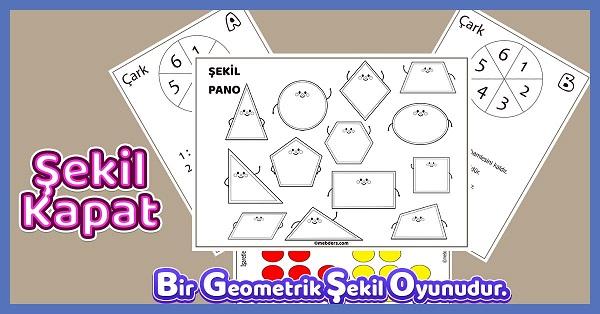Şekil Kapat - Geometrik Şekiller Oyunu