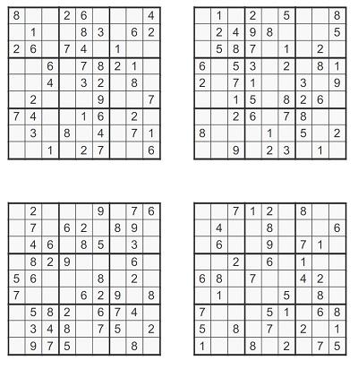 Orta Seviye Sudoku 1
