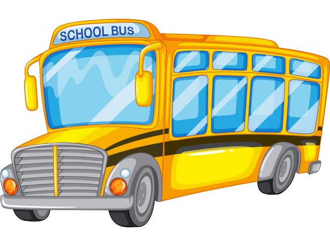 Okul otobüsü resmi png