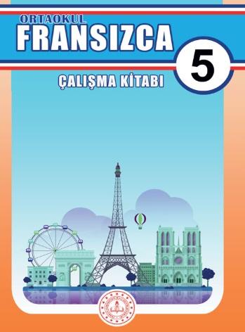 2019-2020 Yılı 5.Sınıf Fransızca Çalışma Kitabı (MEB) pdf indir