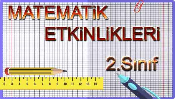 2.Sınıf Matematik 2.Ünite Değerlendirme Etkinliği