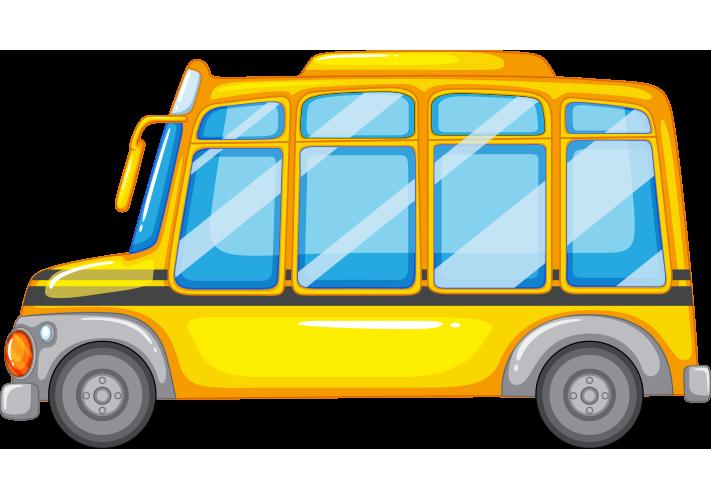 Yan görüntü otobüs resmi png