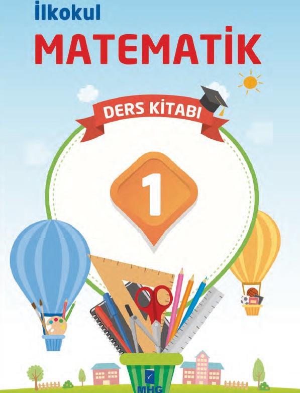 2019-2020 Yılı 1.Sınıf Matematik Ders Kitabı (MHG) pdf indir