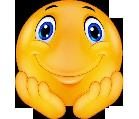 Kollarına yaslanmış hayranlıkla izleyen png emoji resmi