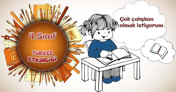 4.Sınıf Türkçe Kitabın Büyüsü Metninin Etkinlik ve Cevapları