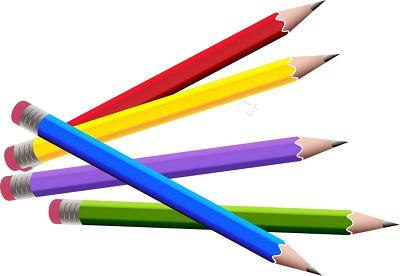 Kurşun kalemler png