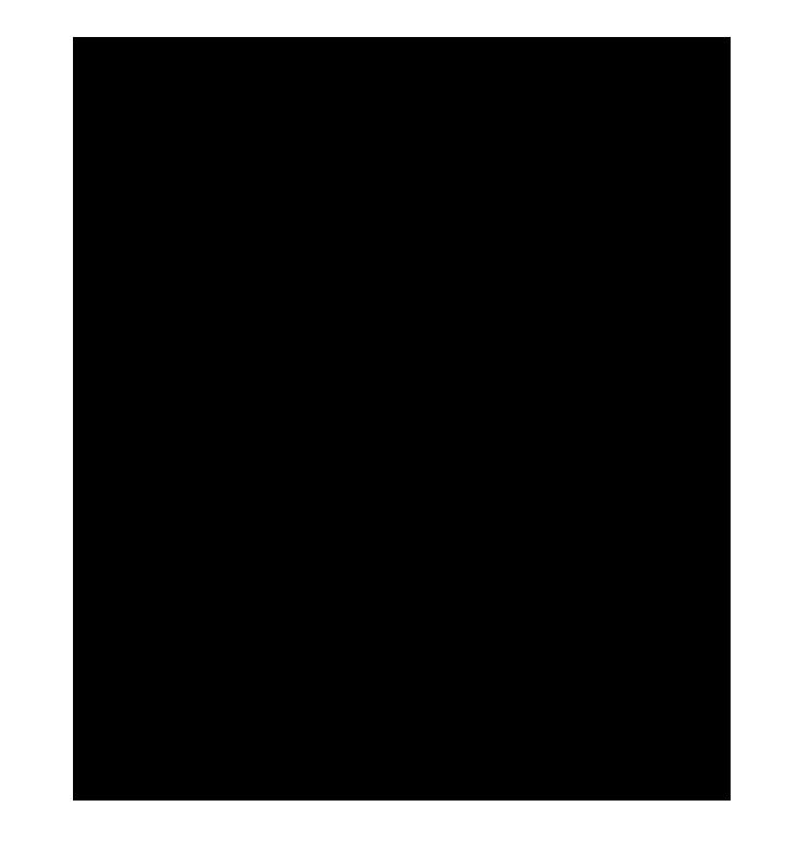 Etrafı değişik şekillerden oluşan png çerçeve resmi