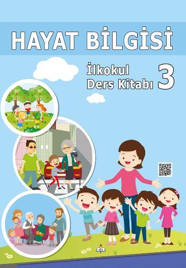 2018-2019 Yılı 3.Sınıf Hayat Bilgisi MEB Yayınları Ders Kitabı pdf