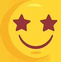 El çizimi süper mutlu png emoji resmi