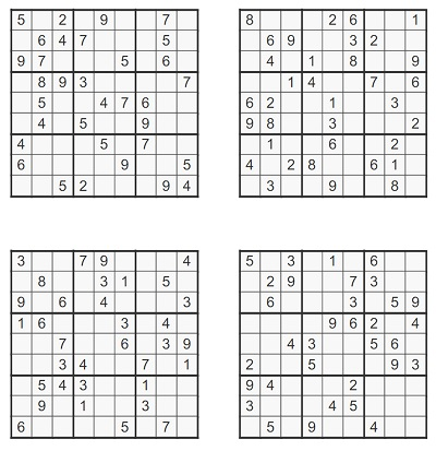 Zor Seviye Sudoku 2