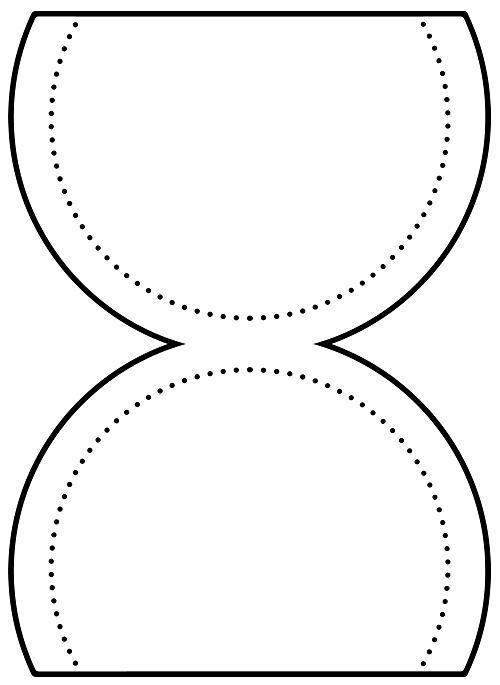 Dairesel cep şablon