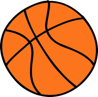 Basketbol topu png
