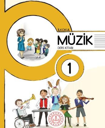 2019-2020 Yılı 1.Sınıf Müzik Ders Kitabı (Meb) pdf indir