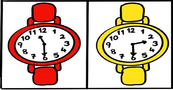 1.Sınıf Matematik Saatler Oku ve Boya Etkinliği