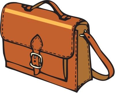 Askılı iş çantası png