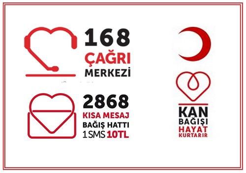 Kızılay iletişim afişi