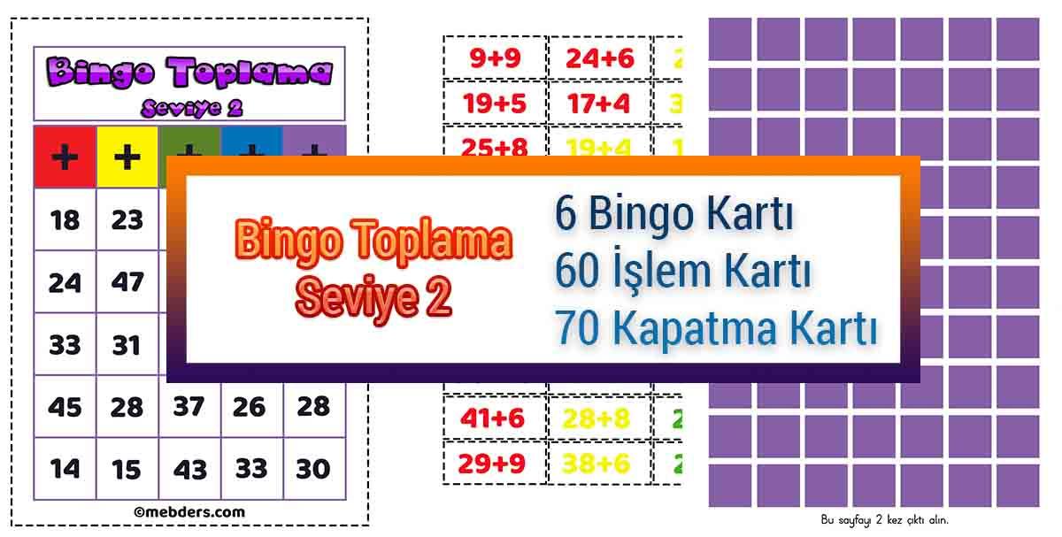 Bingo Toplama Oyunu - Seviye 2