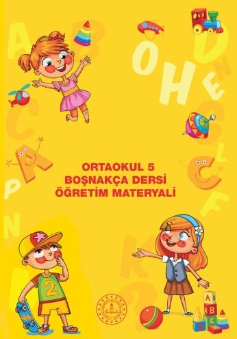 5.Sınıf Boşnakça Öğretim Materyali Ders Kitabı pdf indir