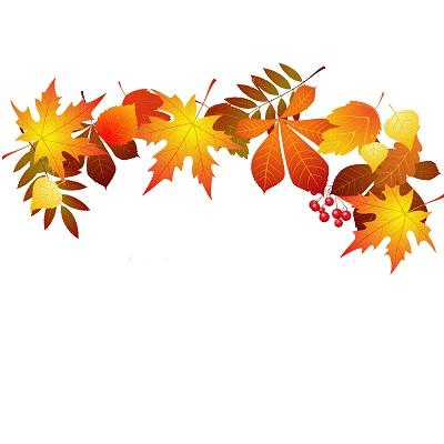 Yapraklı süsleme png
