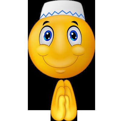 Dua eden png emoji resmi
