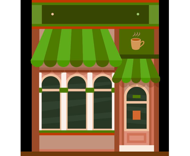 Kafe bina resmi png