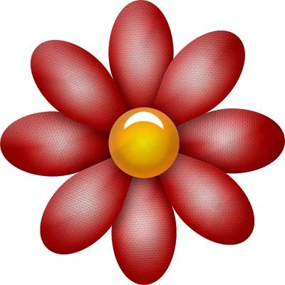 Kırmızı çiçek yaprağı resmi png