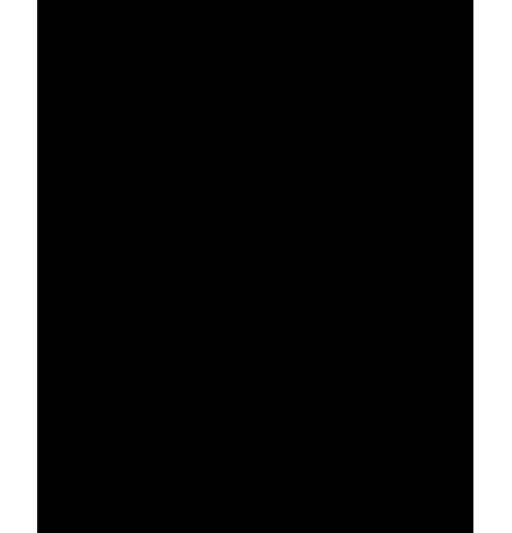 Köşeleri kıvrımlı png çerçeve resmi