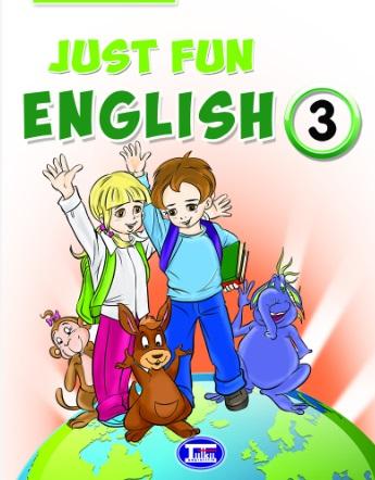 2019-2020 Yılı 3.Sınıf İngilizce Just Fun English Ders Kitabı (Tutku) pdf indir