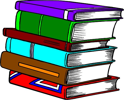 Üst üste dizili kitaplar resmi png