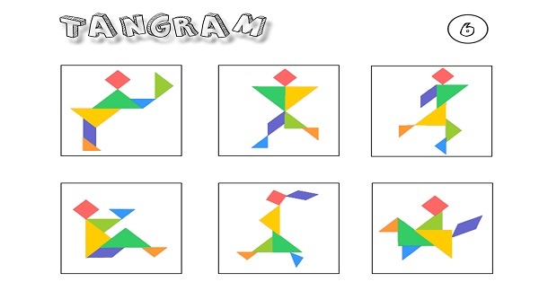 Tangram etkinliği 6