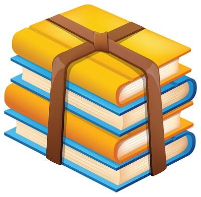 Paketlenmiş kitaplar resmi png