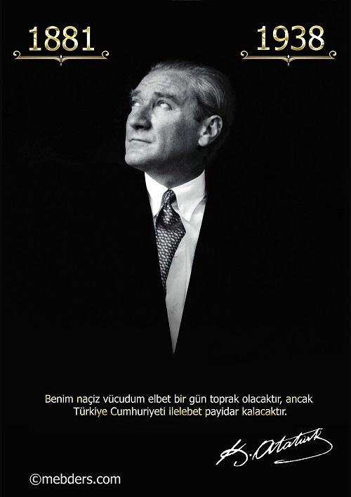 A3 Boyutunda Atatürk Posteri