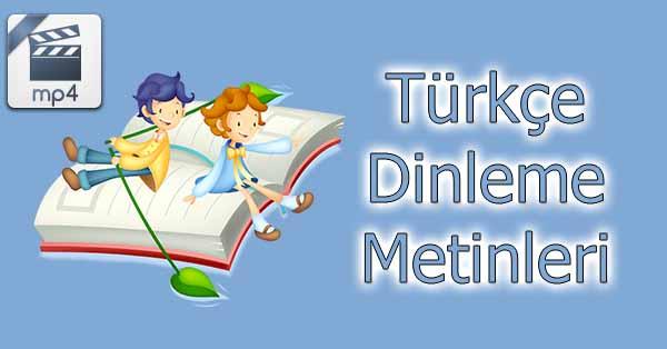 3.Sınıf Türkçe Dinleme İzleme Metni - Kilometre Taşları mp4 - Meb Yayınları