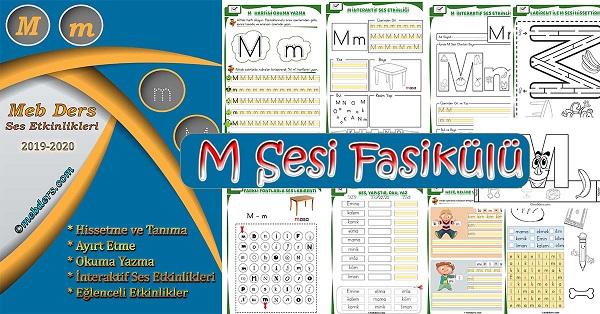 1.Sınıf İlkokuma M Sesi Fasikülü