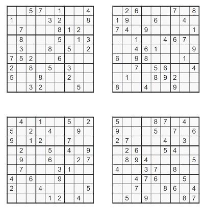 Zor Seviye Sudoku 3