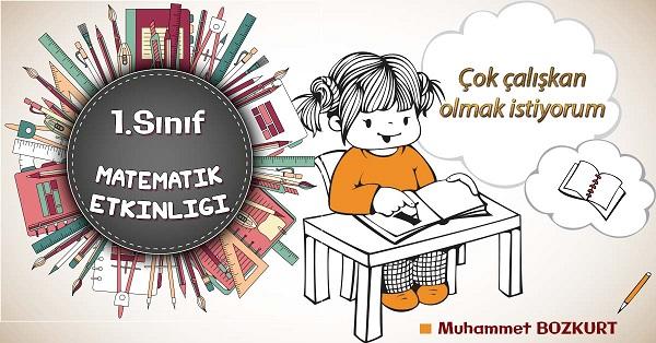 1.Sınıf Matematik Toplama İşlemi Problem Kurma Etkinliği 1