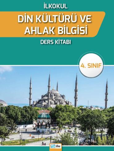 2018-2019 Yılı 4.Sınıf Din Kültürü ve Ahlak Bilgisi İlke Yayınları Ders Kitabı pdf