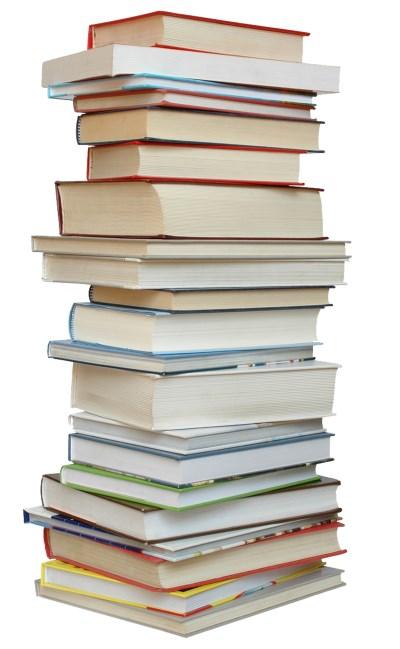 Üst üste dizilmiş kitaplar png