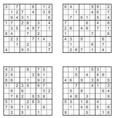 Orta Seviye Sudoku 5