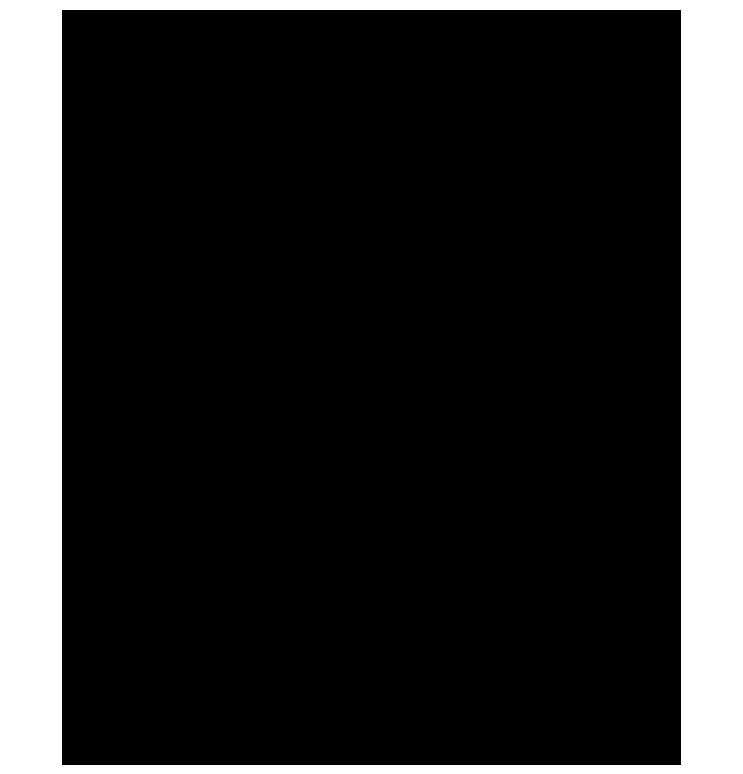 Dört köşesi figürlü png çerçeve resmi