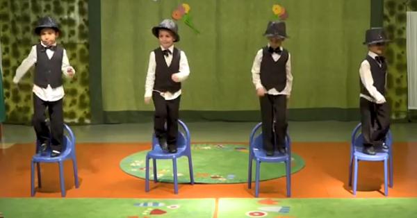 Küçüklere uygun 23 nisan sandalye gösterisi