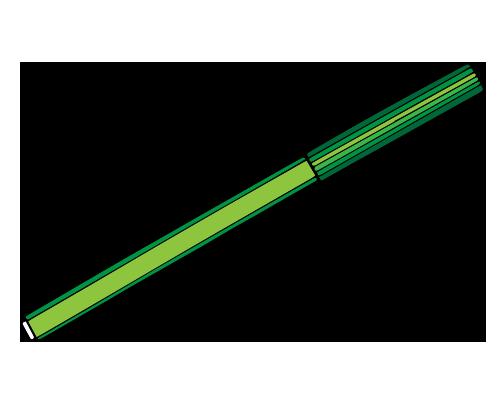 Yeşil boya kalemi resmi png
