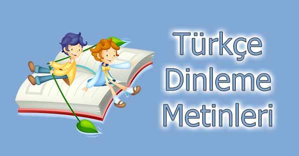 3.Sınıf Türkçe Dinleme Metinleri - SDR Dikey Yayınları